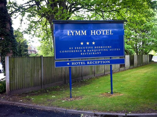 The Lymm Hotel: A momento for our trip album