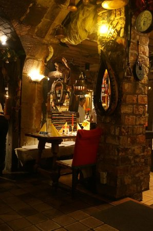 Steakhouse Ponchos: Inside Ponchos