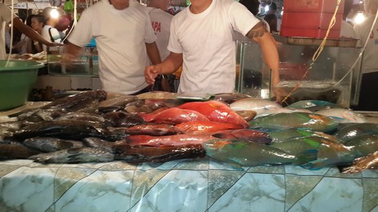D' Talipapa Market: Рыба Лапу-лапу