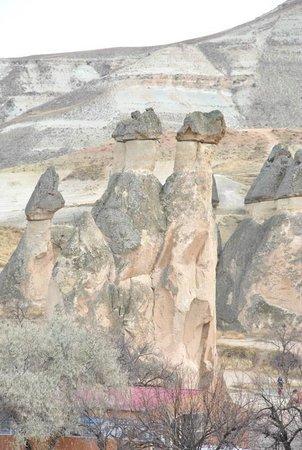 Dedeli Konak Cave Hotel: View from Room