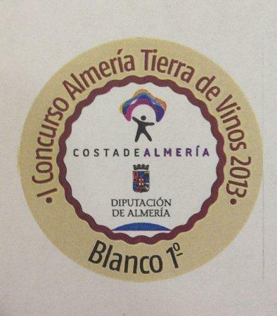 Seron, Испания: Premio Mejor Blanco de Almería 2013