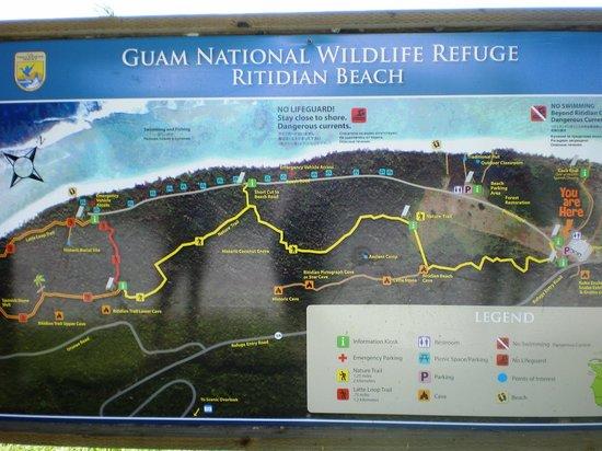 Ritidian Point : План