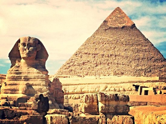 Cheops-Pyramide: Giza Pyramids