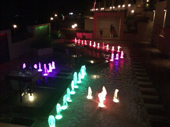 Suman raj Resort : Hotel at Night