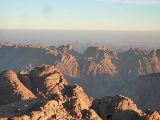 Dahab Safari Day Tours : view from the top (like dolomits)