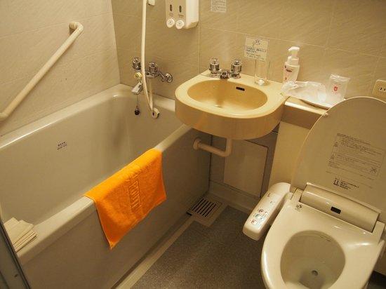 Hotel Sunroute Wadayama : バスルーム