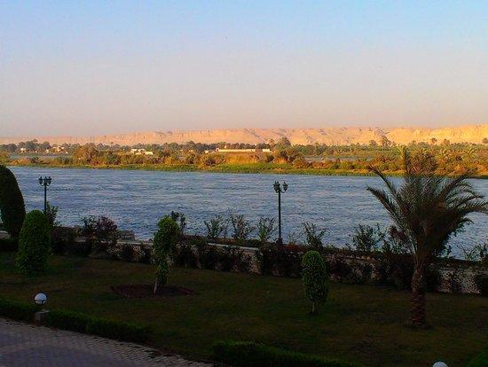 Horus Resort Menia: nice view to the river Nile