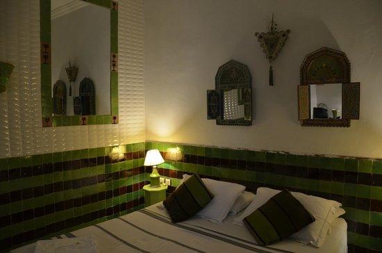 Riad Les Lauriers Blancs: la chambre jade