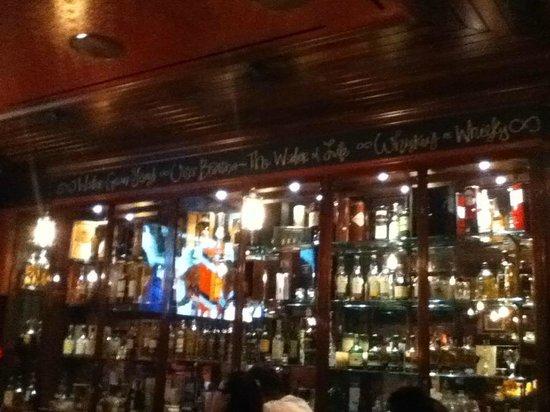 Ri Ra: great whiskey selection