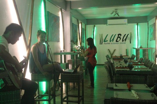 Nice ambiance picture of lubu filipino and seafood for Ambiance cuisine nice