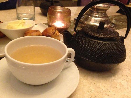 So SPA by Sofitel: Herbal tea