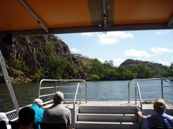 Katherine Gorge: View from front of barge