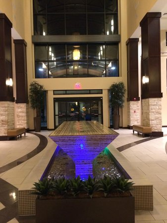 Embassy Suites by Hilton Savannah Airport: lobby water feature