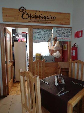 El Chumanguito Cocina Patagónica: la entrada