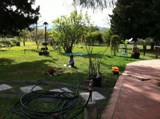 B&B La Villa: parco
