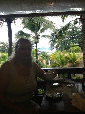 Tup Kaek Sunset Beach Resort : View from restaurant!!