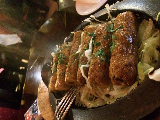 INDIANO JOHN's SAMRAT : Chicken seek kebab