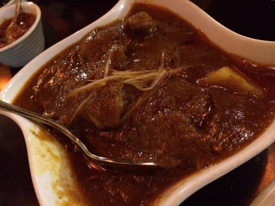 INDIANO JOHN's SAMRAT : Lamb curry