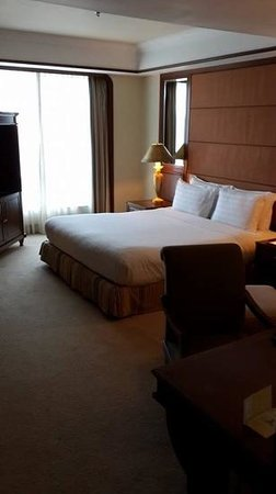 Sutera Harbour Resort (The Pacific Sutera & The Magellan Sutera): Bedroom at the Pacific Sutera Harbour