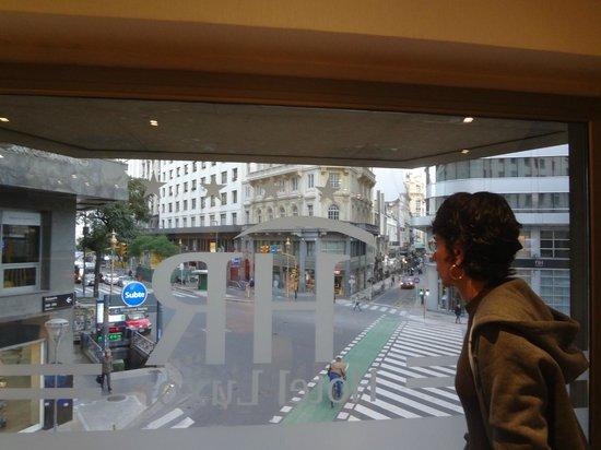 HR Luxor Buenos Aires: Bem localizado