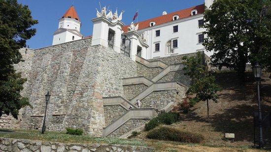 Park Inn Danube Bratislava: Burg Bratislava