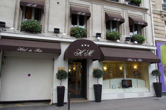 Hotel Du Midi Paris Montparnasse: リニューアルされた外観