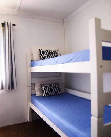 Umzumbe Surf House & Surf Camp: The Bunk Bed Room is simple, clean and a cozy place to rest your head.
