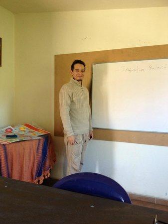 Amigos del Sol: Esteban-Grammar taskmaster with great sense of humor-we laughed a lot