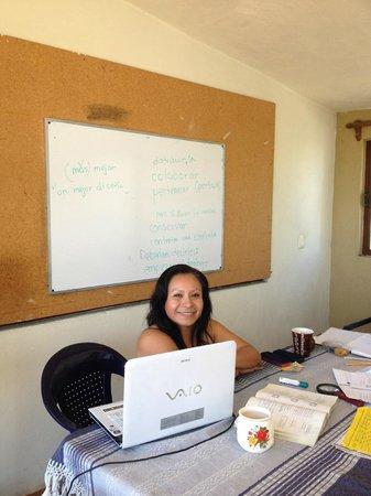 Amigos del Sol: Miriam-patient no matter how many errors I made