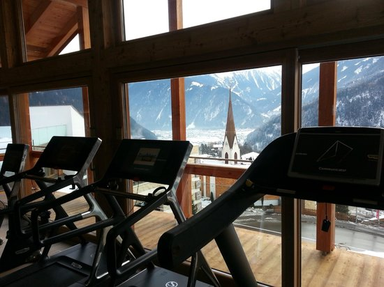 Stock Resort: Ausblick Fitness