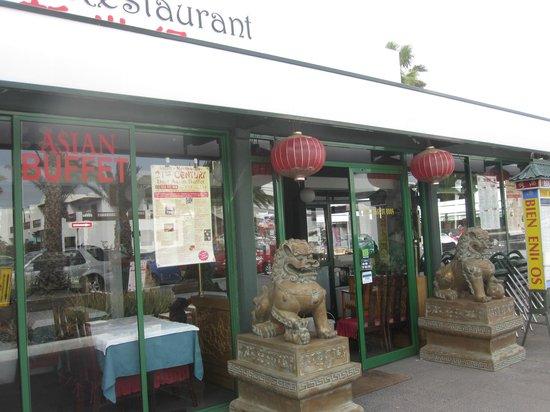 21st Century Chinese Buffet Restaurant: Esterno locale