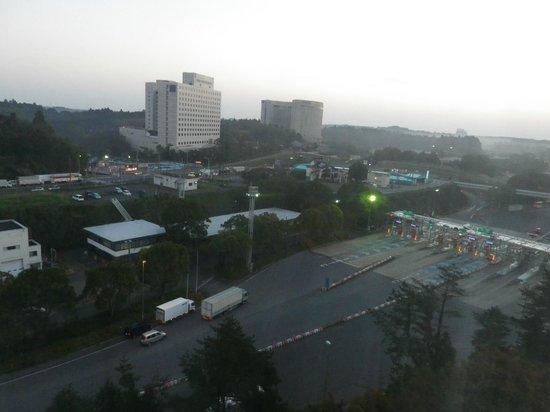 Narita Gateway Hotel: 部屋からの眺めが良い