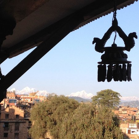 Heart of Bhaktapur Guest House: The view from Terrace