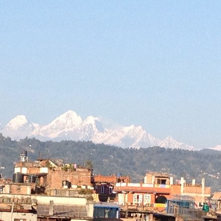 Heart of Bhaktapur Guest House: The view from rooftop