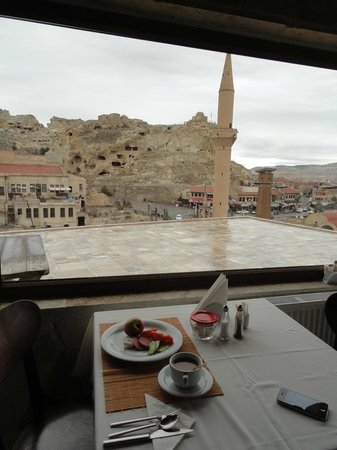 Hotel Cave Konak : view from restaurant