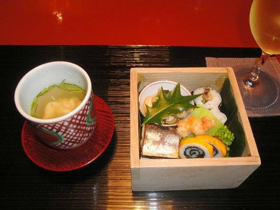 Tawaraya Ryokan : 先附・小茶碗