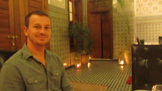Dar Roumana : The hotel restaurant