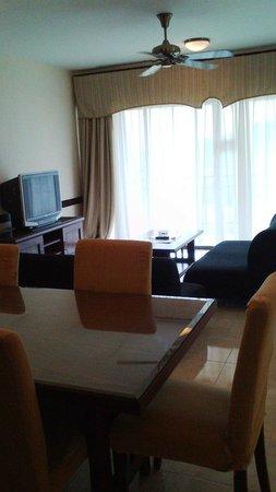 A'Famosa Resort Hotel Melaka : Living/Dining area