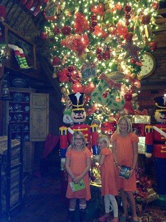 the angus barn the upside down christmas tree - Barn Christmas Decorations