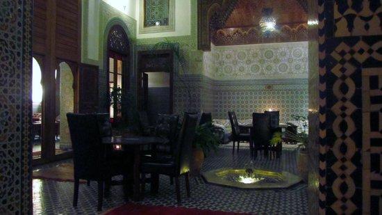 Dar Roumana: Hotel restaurant