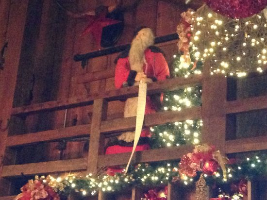 more christmas decorations picture of the angus barn raleigh tripadvisor - Barn Christmas Decorations