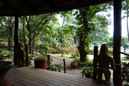 Hotel Los Mangos: Reception