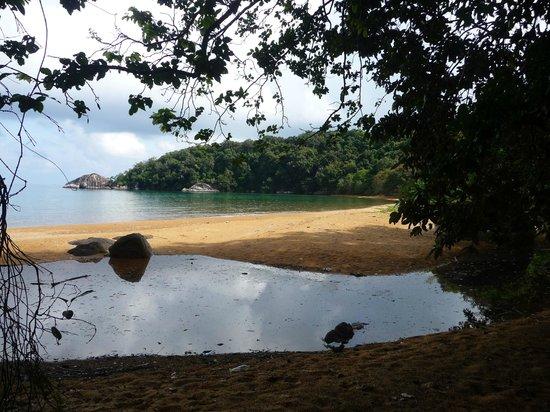 Arrivo alla Monkey Bay