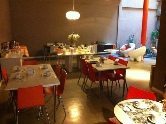 Tre Design Apartments: Breakfast room