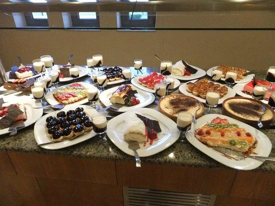 Ostria Resort & Spa : buffet