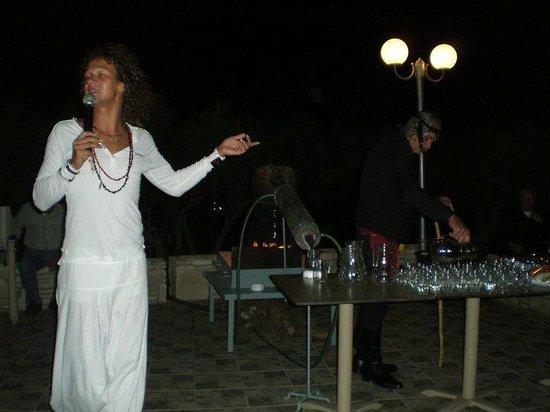 Ostria Resort & Spa : soirée blanche