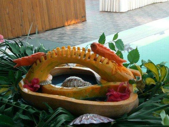 Ostria Resort & Spa : buffet