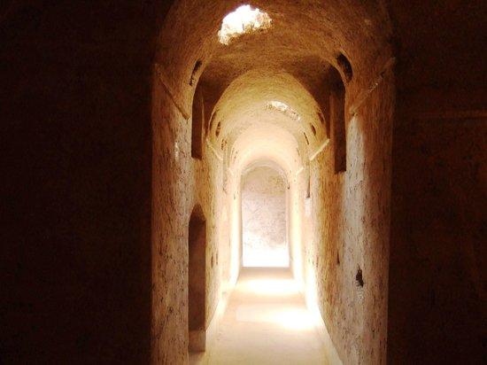 El Badi Palace: Underground passageways