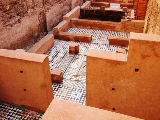 El Badi Palace: Inside