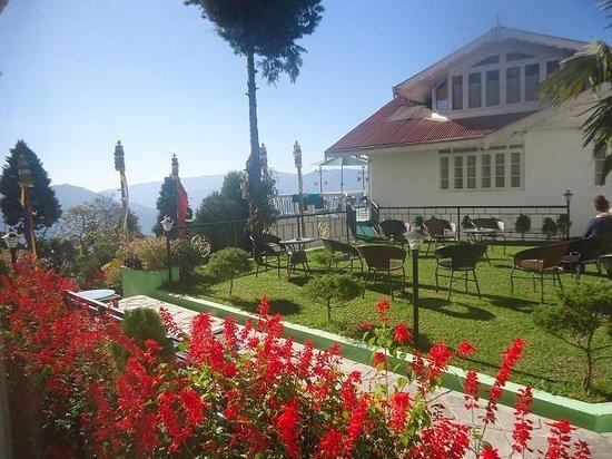 Little Tibet Resort: Little Tibet, view from our bedroom